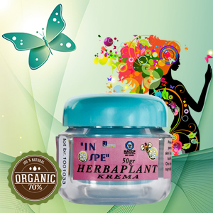 Natural cosmetics - Herbaplant cream