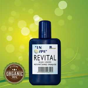 Natural balms - Revital lotion